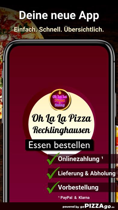 Oh La La Pizza Recklinghausen screenshot 1