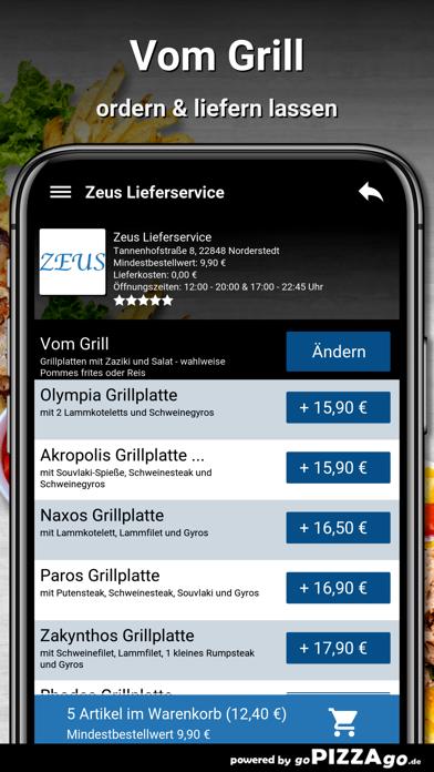 Zeus Lieferservice Norderstedt screenshot 6