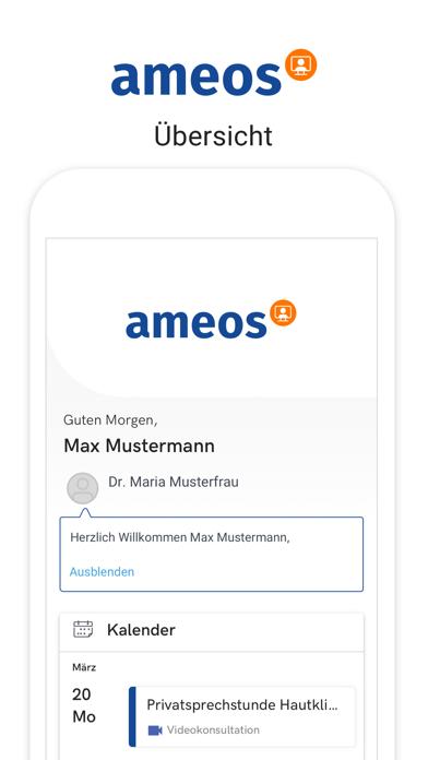 AMEOS Direkt VideosprechstundeScreenshot von 3