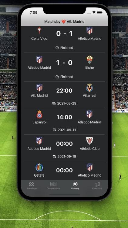 La Liga Football Scores screenshot-4