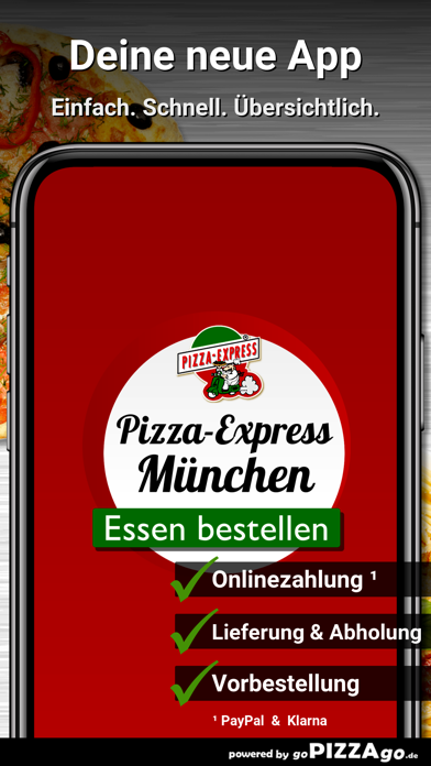 Pizza-Express München Pasing screenshot 1