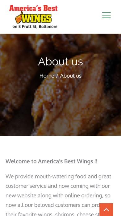 Americas Best Wings screenshot 1