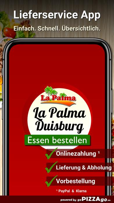Pizzeria La Palma Duisburg screenshot 1