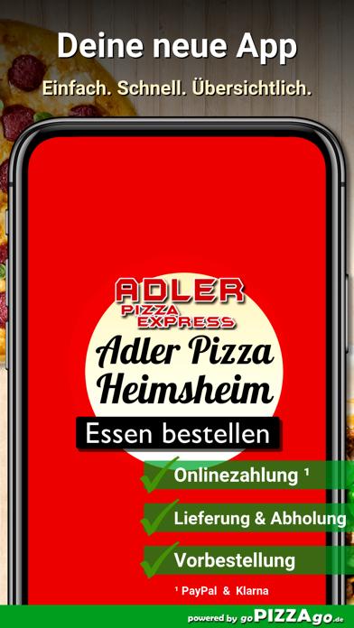 Adler Pizza Express Heimsheim screenshot 1