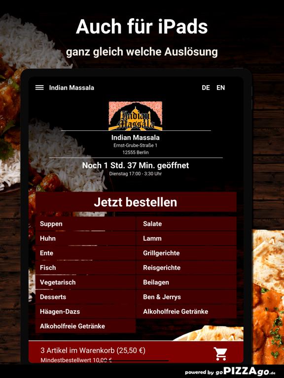 Indian Massala Berlin screenshot 7