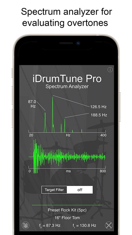 Drum Tuner - iDrumTune Pro screenshot-3