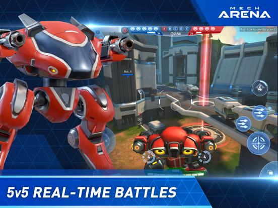 Mech Arena: Robot Showdown iPad app afbeelding 2