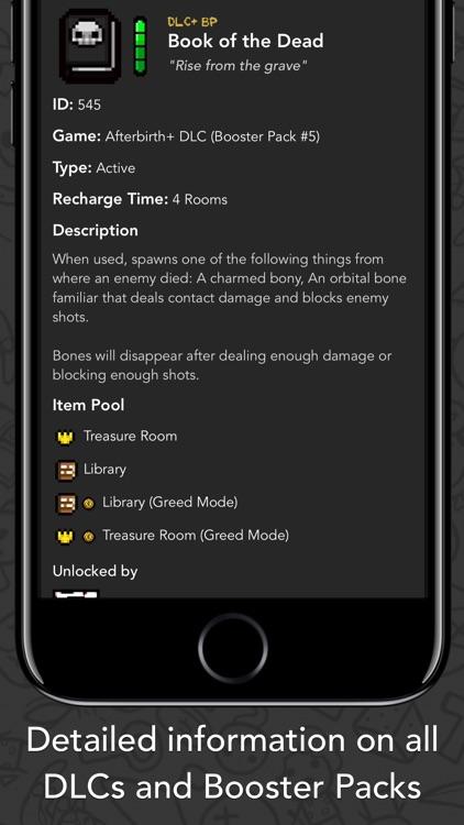 Guide+ for Binding of Isaac screenshot-3