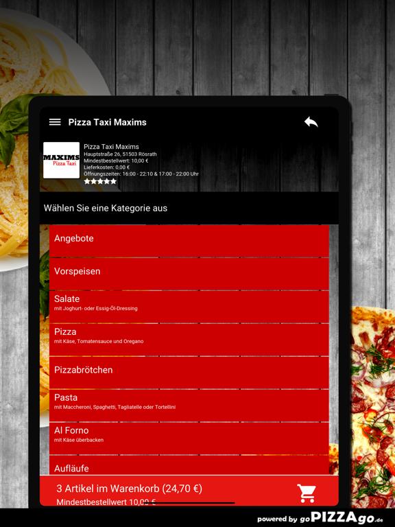 Pizza Taxi Maxims Rösrath screenshot 8