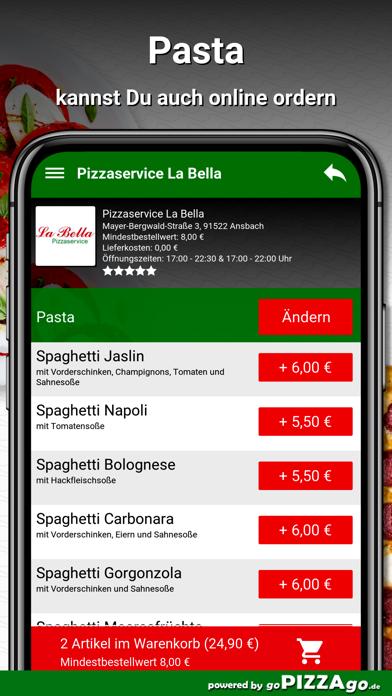 Pizzaservice La Bella Ansbach screenshot 5
