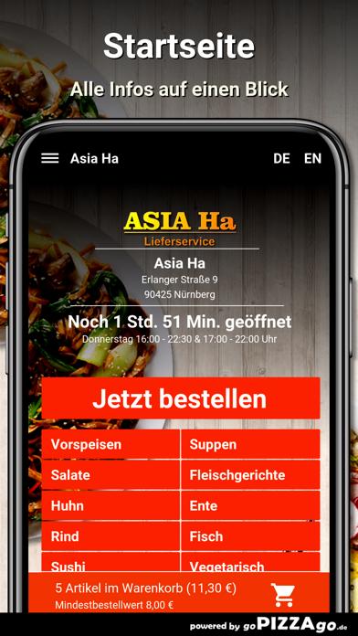 Asia Ha Nürnberg screenshot 2