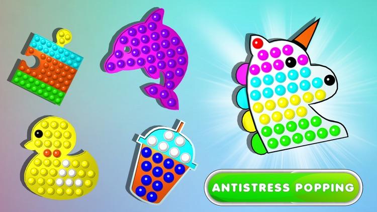 Fidgets Bubble Popping 3D