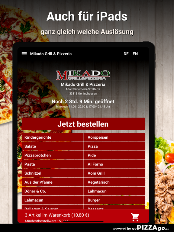 Mikado-Grill Oerlinghausen screenshot 8