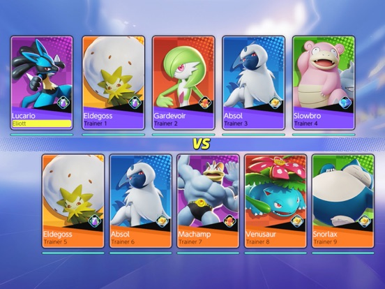 iPad Image of Pokémon UNITE