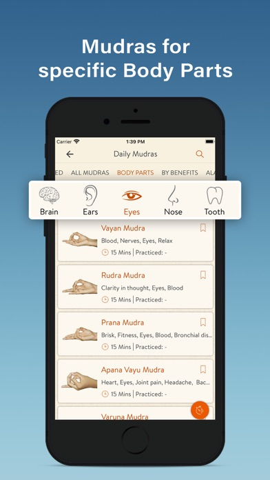 Daily Mudras (Yoga) screenshot 8