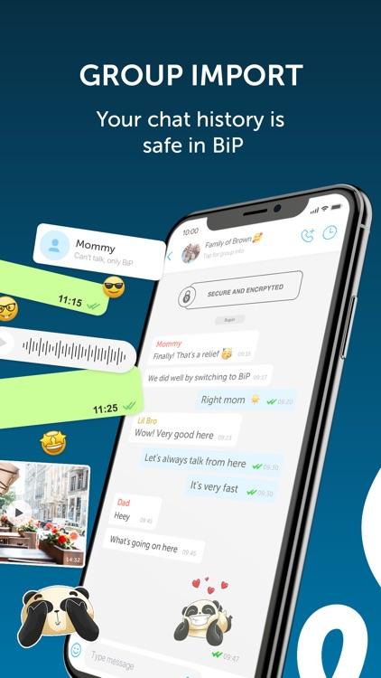 BiP - Messenger, Video Call screenshot-3