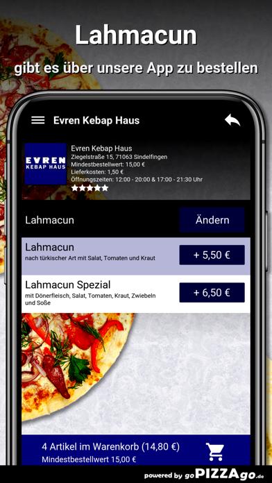 Evren Kebap Haus Sindelfingen screenshot 1