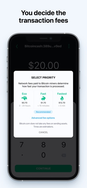 Apple App Store Bitcoin Brieftasche