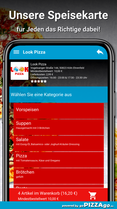 Look Pizza Köln Ehrenfeld screenshot 4