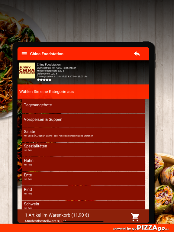 China Foodstation Reichenbach screenshot 8