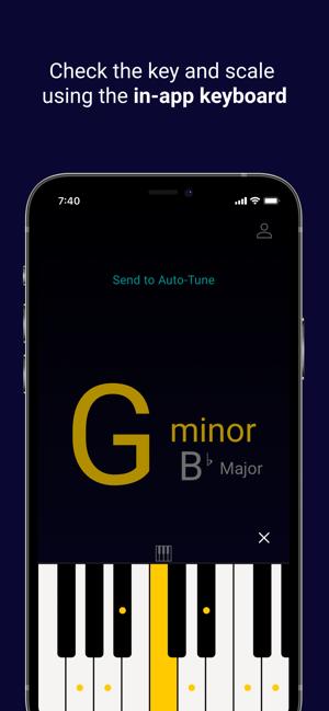 Auto-Key | Music key detection Screenshot