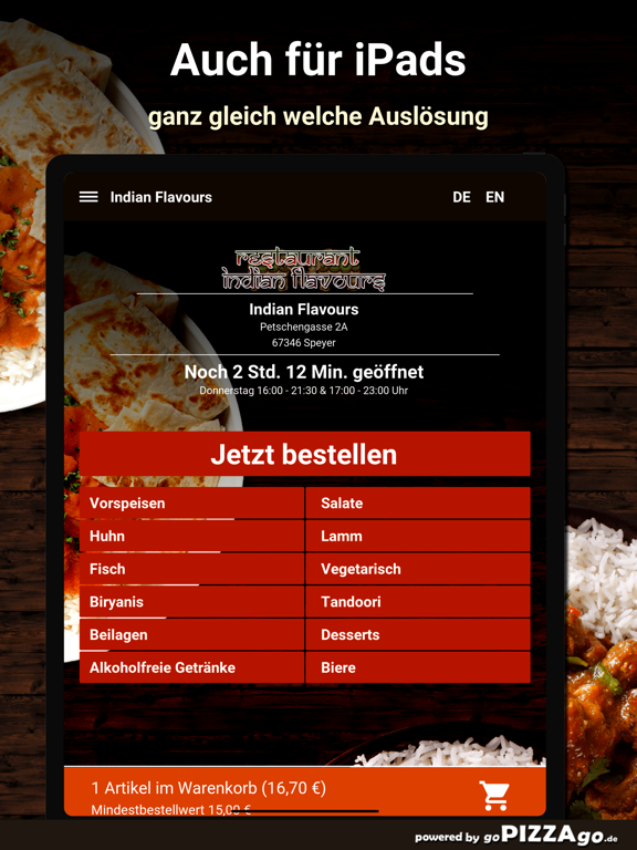 Indian Flavours Speyer screenshot 7