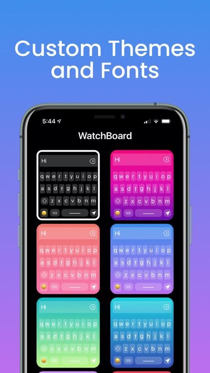WatchBoard - Watch Keyboard screenshot-3