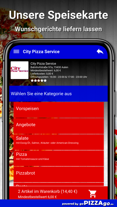 City Pizza Service Aalen screenshot 4