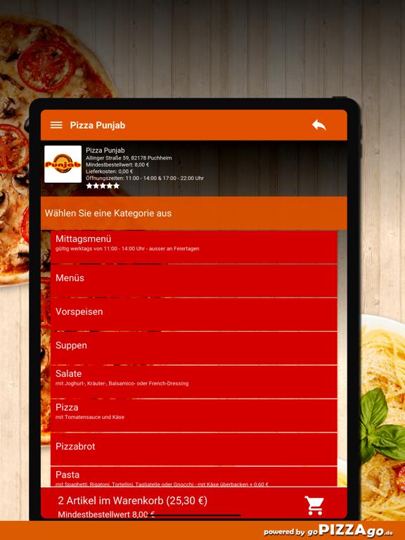 Pizza-Punjab Puchheim screenshot 8