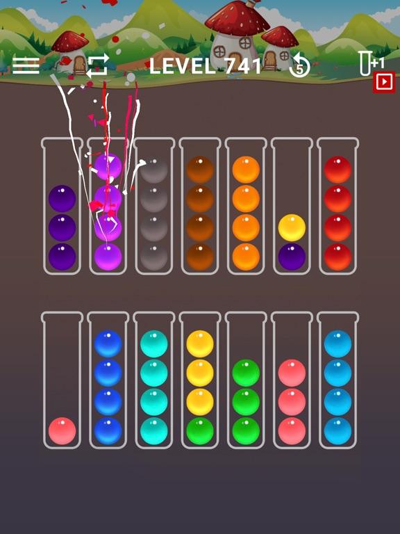 Ball Sort Color Water Puzzleのおすすめ画像2