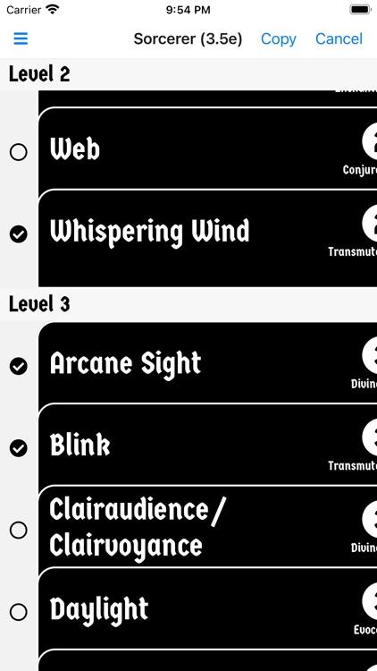 D20 Spell Cards screenshot-6