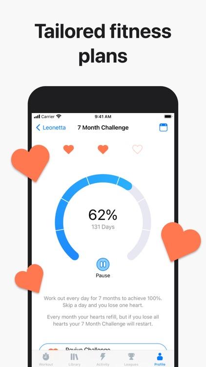 Seven: 7 Minute HIIT Workout screenshot-4