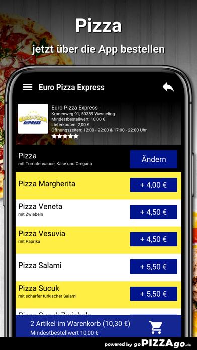 Euro Pizza Express Wesseling screenshot 5