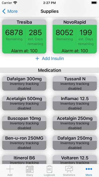 DiabetesPal screenshot-5