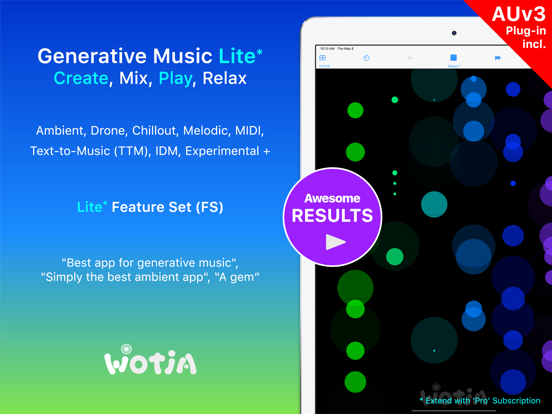 Wotja 21: Generative Music