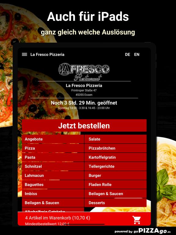 La Fresco Pizzeria Essen screenshot 7