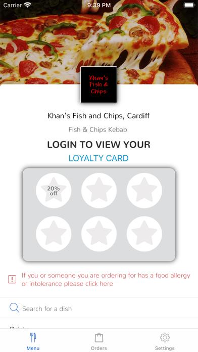Khan's Fish and Chips, Cardiff screenshot 1