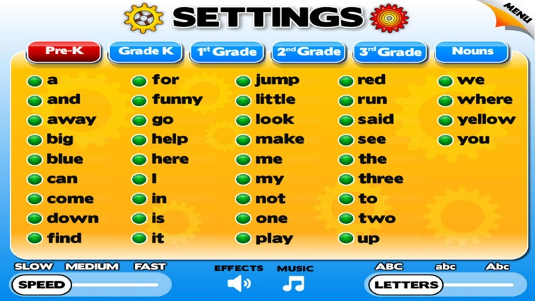 Sight Word Games & Flash Cards screenshot-3