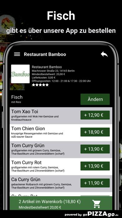 Restaurant Bamboo Berlin screenshot 6
