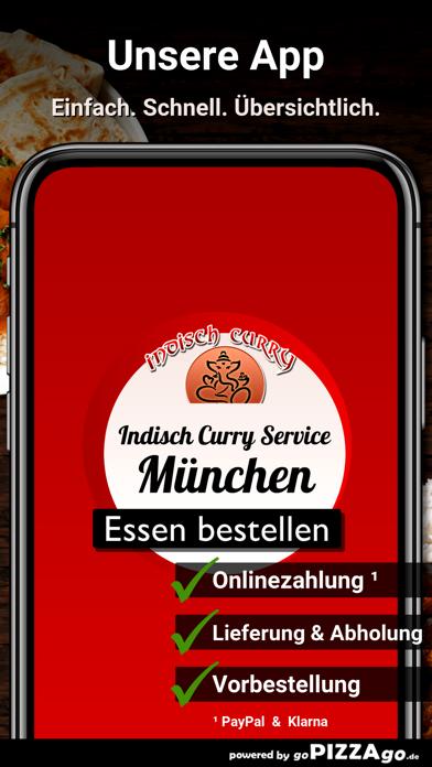 Indisch-Curry Service München screenshot 1