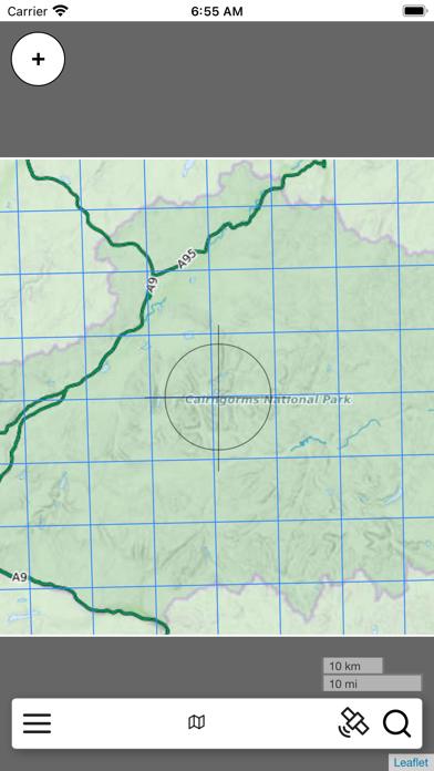 The Cairngorms Outdoor Map screenshot 1