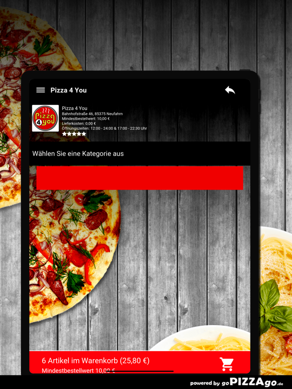 Pizza 4 You Neufahrn screenshot 8
