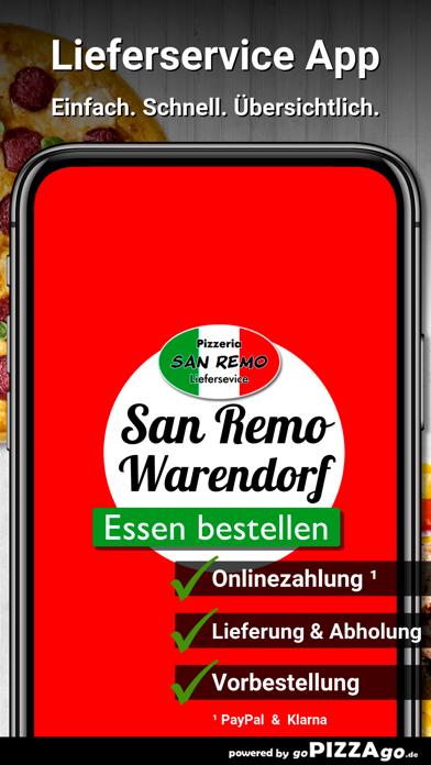 Pizzeria San Remo Warendorf screenshot 1