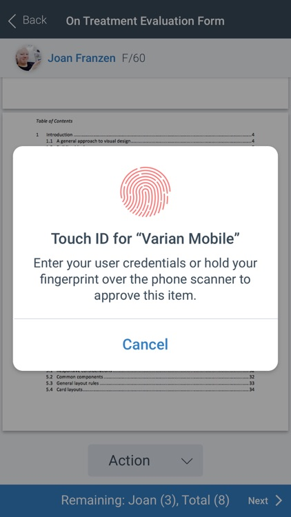 Varian Mobile screenshot-7