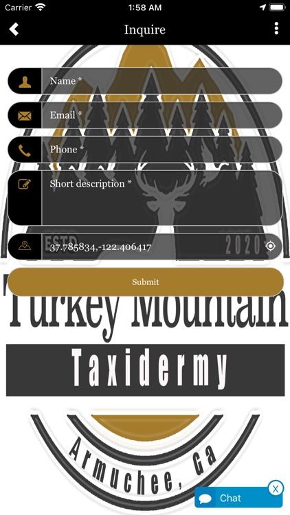 Turkey Mountain Taxidermy screenshot-3