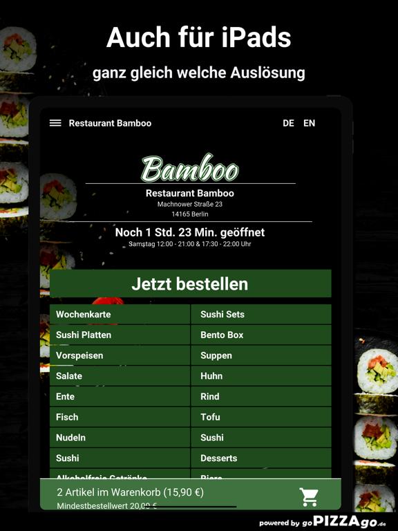 Restaurant Bamboo Berlin screenshot 7