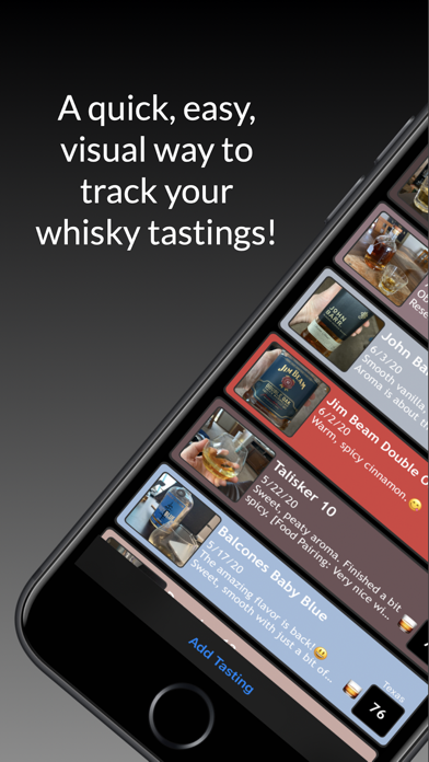 Whisky TastingsScreenshot of 1