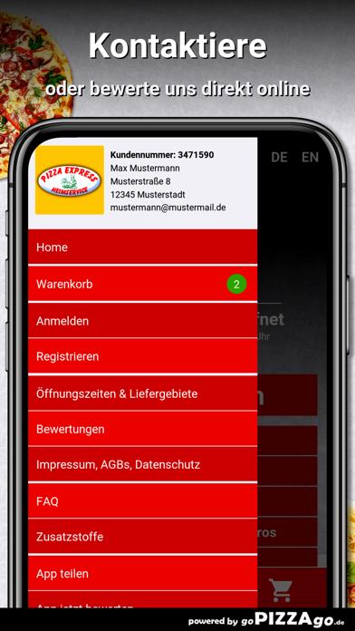 Pizza-Express Crimmitschau screenshot 3