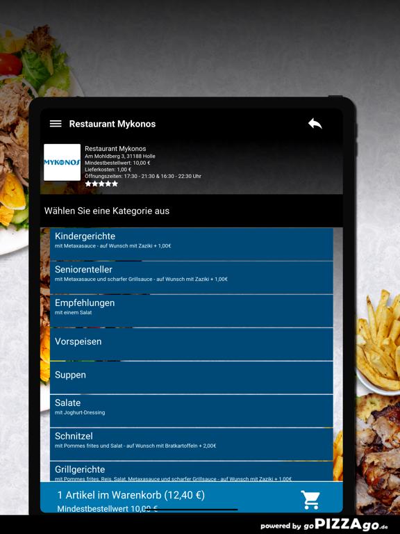Restaurant Mykonos Holle screenshot 8
