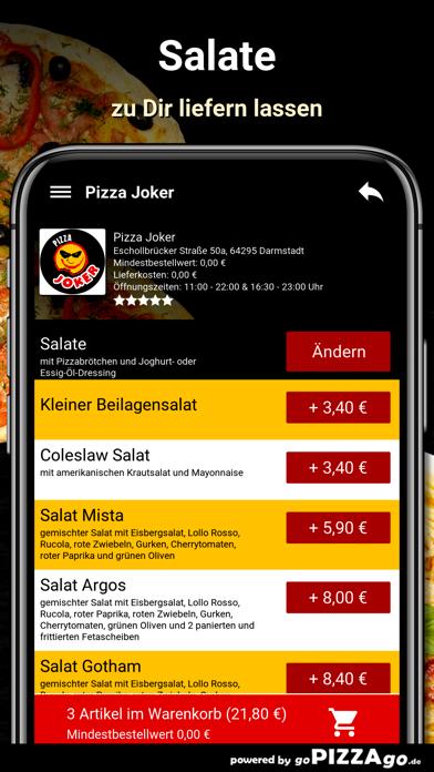 Pizza Joker Darmstadt screenshot 5